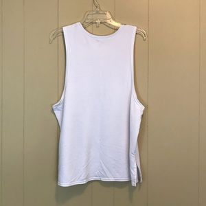 SO Tops - SO | Lift Pizza Graphic Tank | White